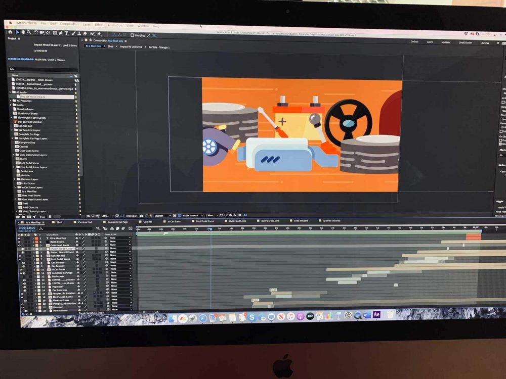 Video Production 2D Animation After Effects Ipswich Suffolk - 2
