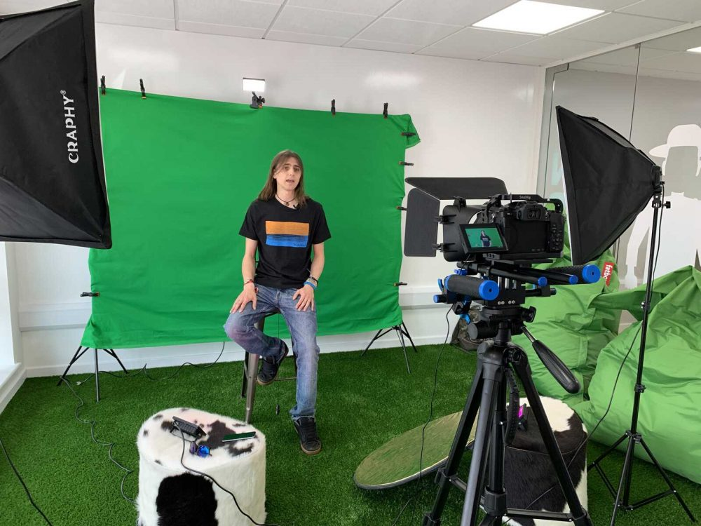 Video Recording Editing Ipswich Suffolk Green Screen SAS Studio Company - 1
