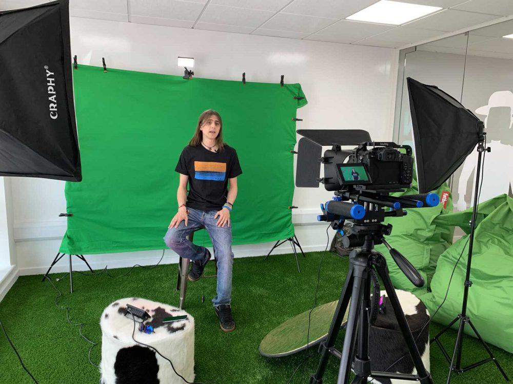 Video Recording Editing Ipswich Suffolk Green Screen SAS Studio Company - 1