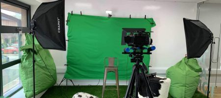 Green Screen Filming Day at the Shout About Suffolk Studio