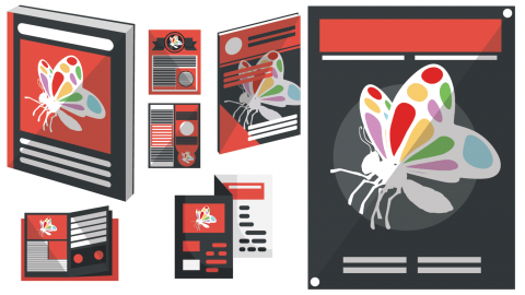The difference between, Brochures, Catalogs, Leaflets and other forms of print marketing media 5