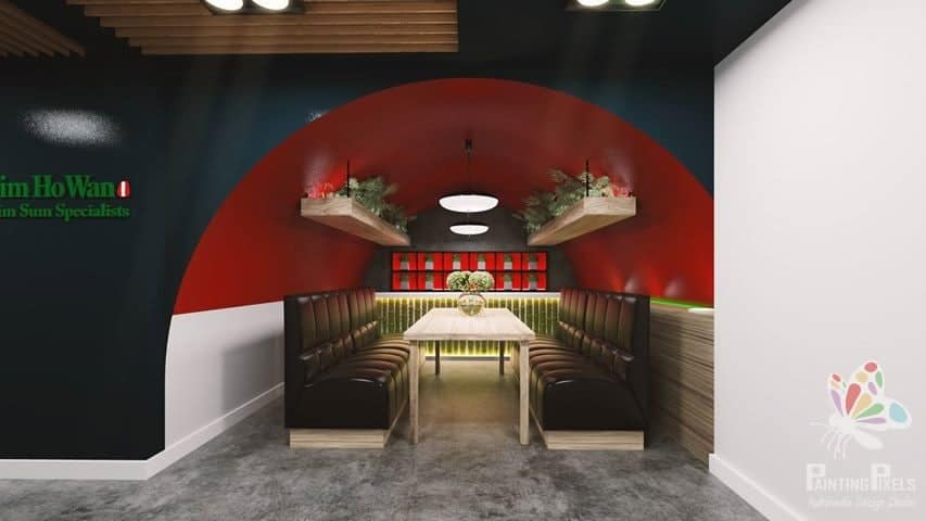 Painting Pixels Ipswich Suffolk 3D Render Architectural Design Studio Multimedia 1