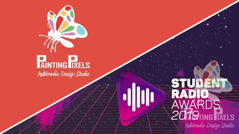 Painting Pixels Awards Show London O2 Arena Motion Graphics 2D Animation Digital