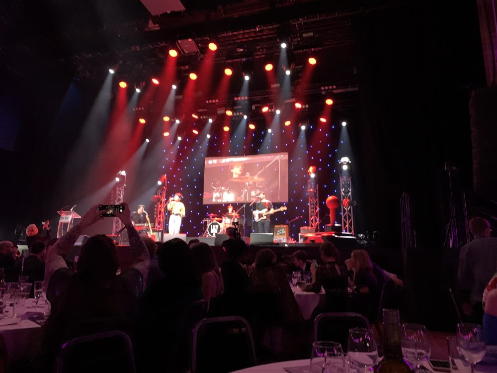 Painting Pixels at the Student Radio Awards 4