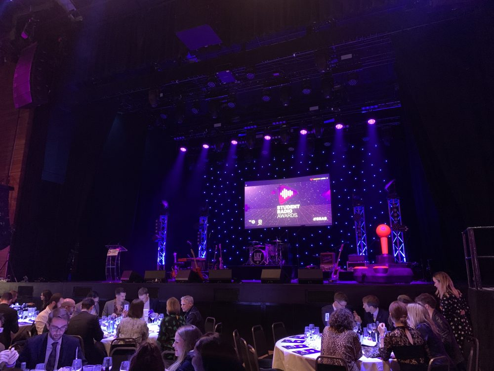 Painting Pixels at the Student Radio Awards 1