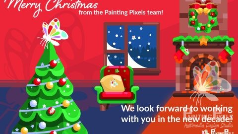 Painting Pixels Christmas 2019 Digital Marketing Design Agency Ipswich Suffolk London
