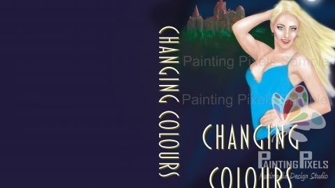 Book Cover Design Graphic Illustration Concept Art Changing Colours -3