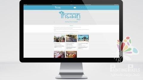 Insaan Aid Website Development Designer Ipswich Suffolk Local Business - 3