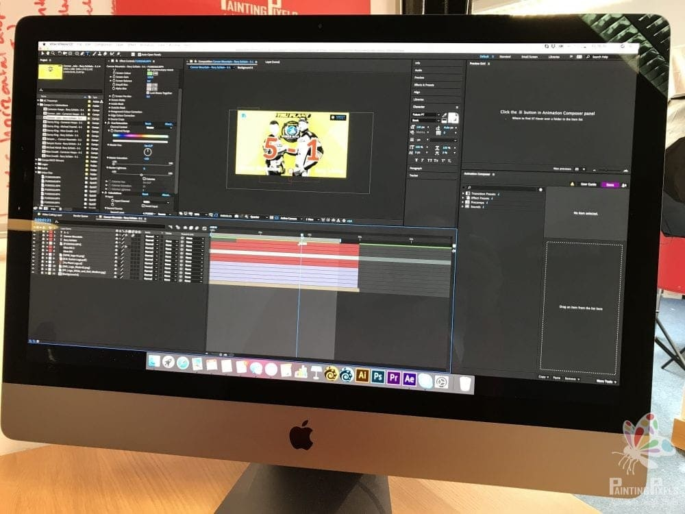 Ipswich Witches Video Production Editing After Effects GIFS 4K Painting Pixels