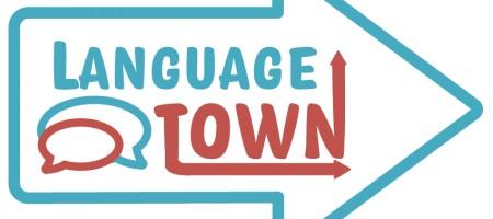 Logo Design Language Town