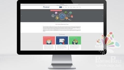 Website Design Ipswich Suffolk East Anglia Picasso HR Web Designer Responsive Bespoke Brochure Site - 6