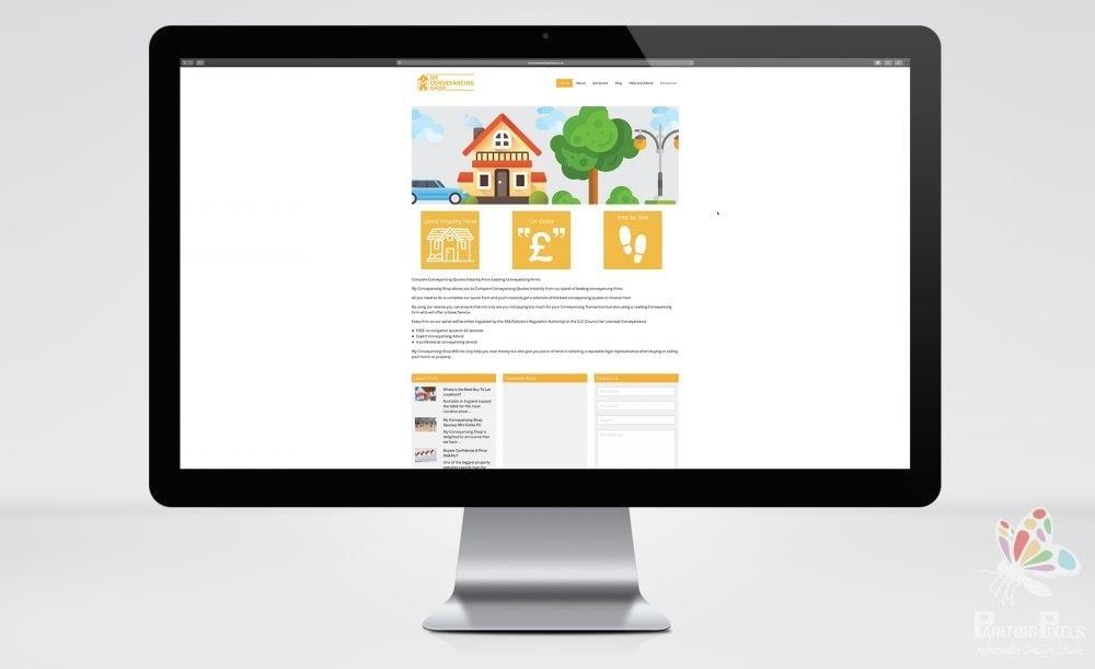 web designer ipswich suffolk my conveyancing shop website graphics - 4
