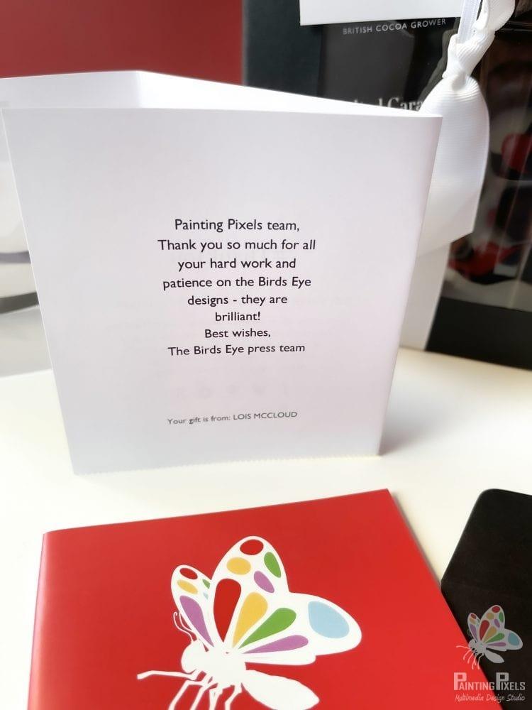 Painting Pixels Full Service Digital Marketing Agency Ipswich Suffolk Essex London - Gift from Birds Eye Press Team2